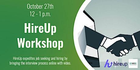 HireUp Employer Workshop tickets
