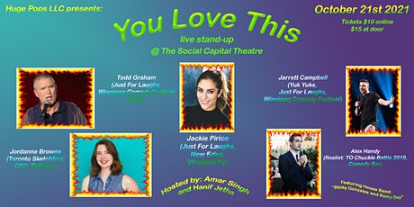YOU LOVE THIS: Stand-Up Showcase tickets