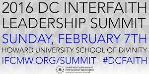 2016 DC Interfaith Leadership Summit