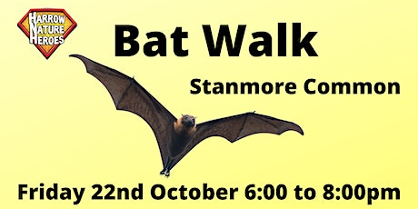 Bat Walk on Stanmore Common tickets