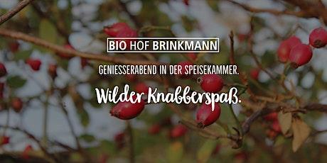 Wilder Knabberspaß | Genießerabend. Tickets