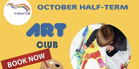 October-Half term  Children Art Club ColourTrail 2021 KENSINGTON tickets