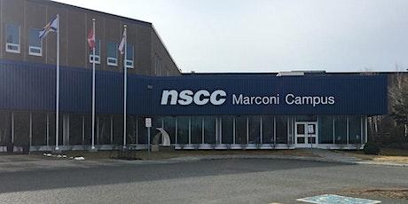 NSCC Marconi: Capable, Confident & Curious Module 4 tickets