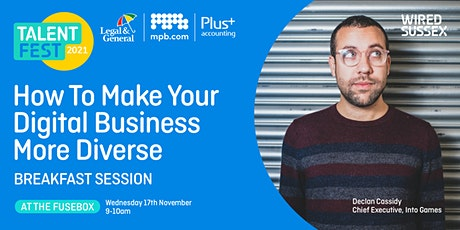 Talent Fest   How to Make Your Digital Business More Diverse tickets