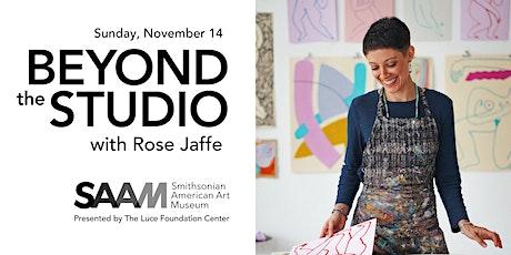 Beyond the Studio Virtual Workshop: Linocut Printing with Rose Jaffe tickets