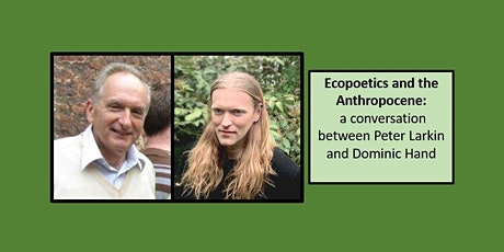 Ecopoetics and the Anthropocene tickets
