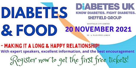 Diabetes  & Food - a day of flavour! November 20th 2021 tickets