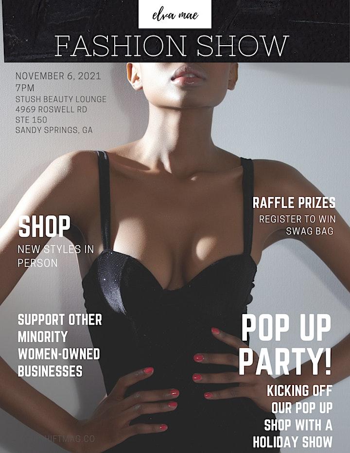 Elva Mae Fashion Show & Holiday Pop-Up image