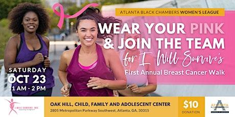Women's League Breast Cancer Walk tickets