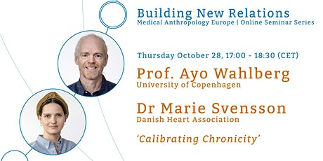 Building New Relations: Medical Anthropology Europe Online Seminar Series tickets