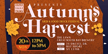 AUTUMN'S HARVEST: AN ARTS AND FOOD TRUCK FESTIVAL tickets