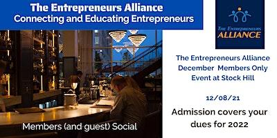 The Entrepreneurs Alliance – December Members Only Social at Stock Hill