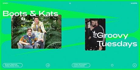 When&Where with Boots and Kats tickets