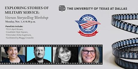 Exploring Stories of Military Service: Veteran Storytelling Workshop tickets