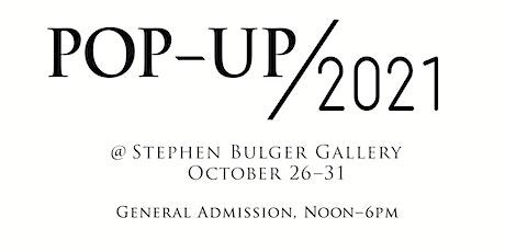 Pop-up 2021 tickets