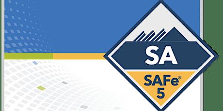 SAFe® Agilist - Leading SAFe 5.1 tickets