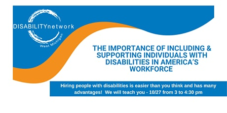 Hiring people with disabilities is easier than you think + many advantages! tickets