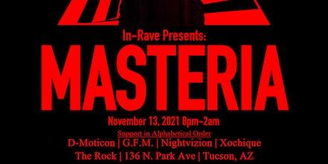 In-Rave Presents: MASTERIA tickets
