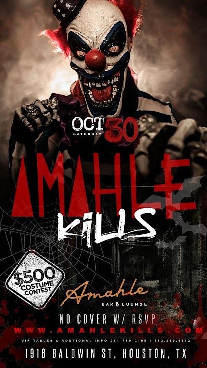 Amahle Kills Halloween Costume Party image