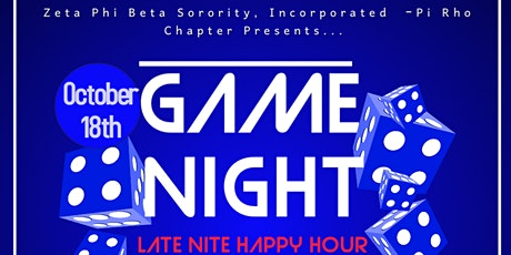 Game Night with Zetas tickets