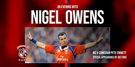An Evening With Nigel Owens tickets