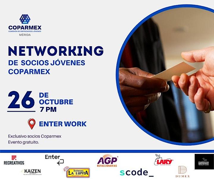Imagen de Networking de socios jóvenes coparmex.