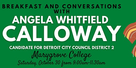 Breakfast with Candidate Angela Whitfield Calloway tickets