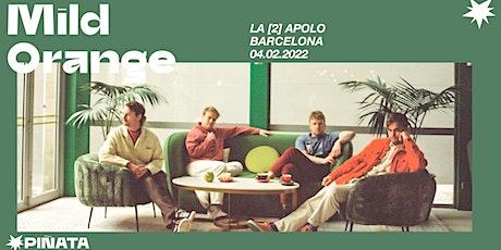 MILD ORANGE en Barcelona entradas