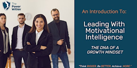Leading with Motivational Intelligence - An Introduction by Beena Sharma tickets