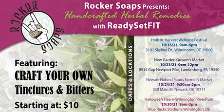 Craft Your Own Bitters and Tinctures - Wilmington, DE tickets