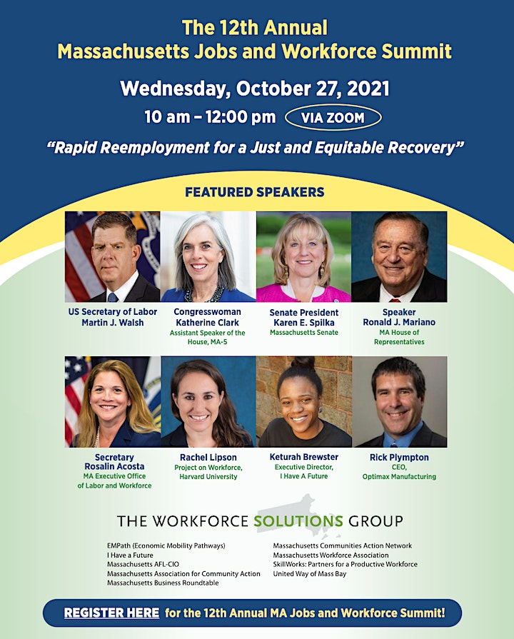 12th Annual MA Jobs and Workforce Summit image
