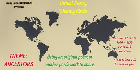 Virtual Poetry Sharing Circle tickets