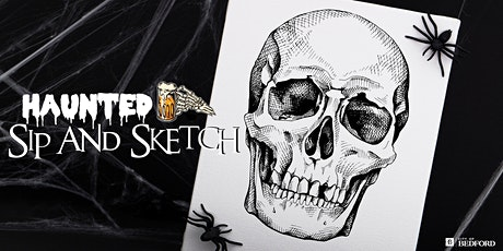 Haunted Sip and Sketch tickets