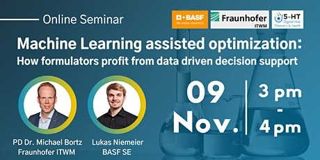 """5-HT Online Seminar """"Machine Learning assisted optimization"""" tickets"""
