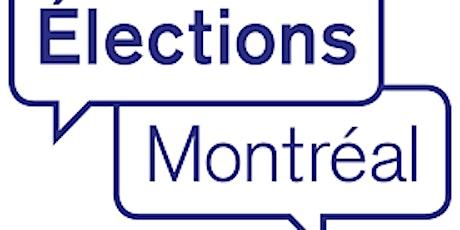 QUOI FAIRE DE SON VOTE - MONTRÉAL-NORD billets