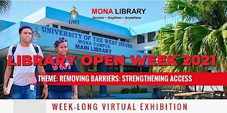 Mona Library Open Week & Celebration of Books 2021 tickets