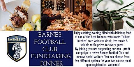 Barnes Football Club Fundraising Dinner tickets