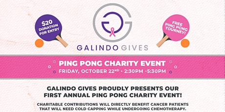 Ping Pong Charity Event tickets