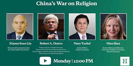 Virtual Event | China's War on Religion tickets
