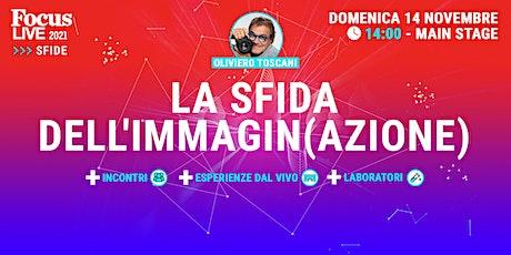Oliviero Toscani: la sfida dell'immagin(azione) tickets