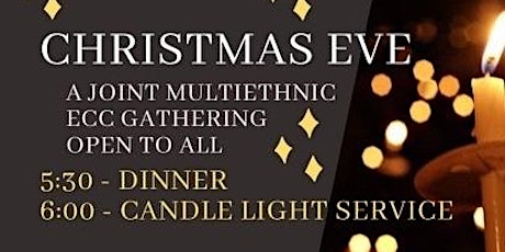Candlelight Christmas Eve Service - A Multiethnic Gathering tickets