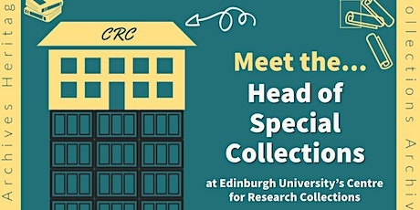 Meet the Head of Special Collections tickets