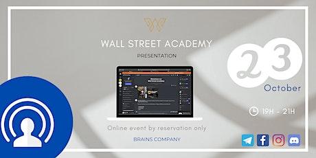 Wall Street Academy Presentation tickets