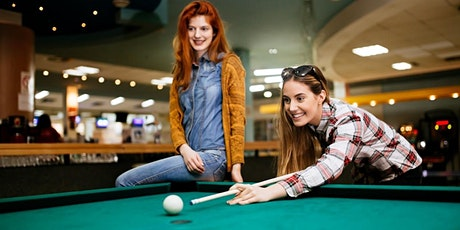 A COMPLIMENTARY BILLIARDS, PING PONG, AND DRINK GAME EVENING tickets