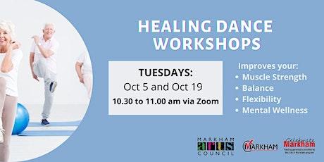 Art for Seniors - Healing Dance Session - October 19, 2021 tickets