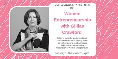 Women Entrepreneurship with Gillian Crawford tickets