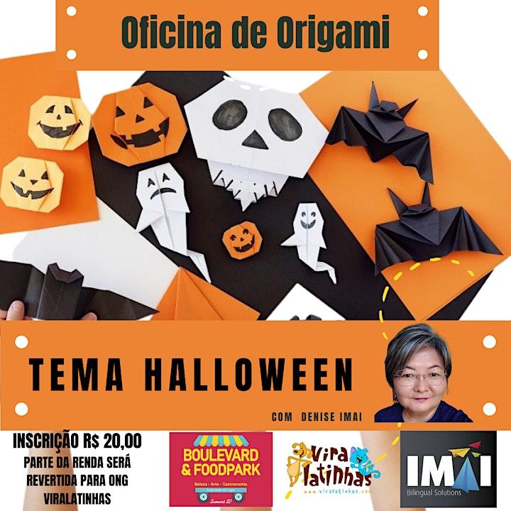 Imagem do evento Oficina de Origami - Tema Halloween
