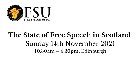 The State of Free Speech in Scotland tickets