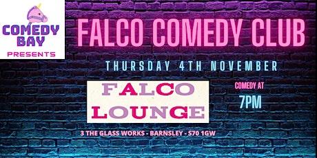 Falco Comedy Club - Comedy, Wine & Tapas tickets