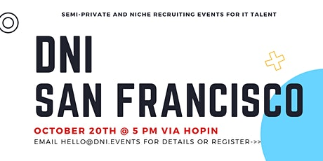 DNI San Francisco/Silicon Valley Talent Ticket tickets